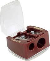 Точилка KUM с контейнером косметическая (6023)