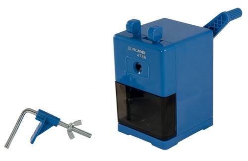 Точилка Buromax синий механическая большая (BM.4786)
