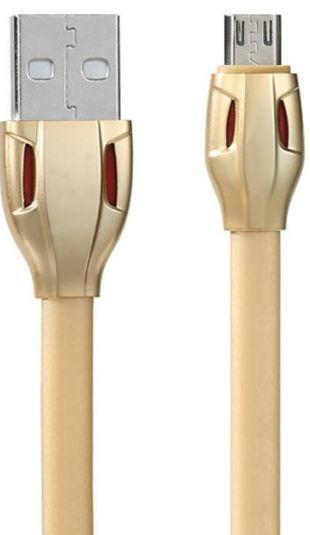 Кабель USB Remax Laser Cobra micro USB Cable Gold (RC-035m)