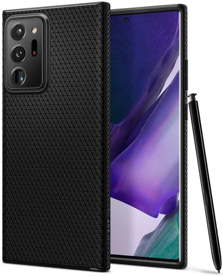 Чехол Spigen Liquid Air Samsung N985 Galaxy Note 20 Ultra Matte Black (ACS01392)