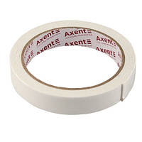 Стрічка клейка Axent двосторонній скотч 18ммХ2м спінена 3111-А