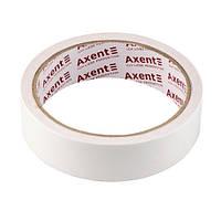 Стрічка клейка Axent двосторонній скотч 24ммХ10м 3101-А