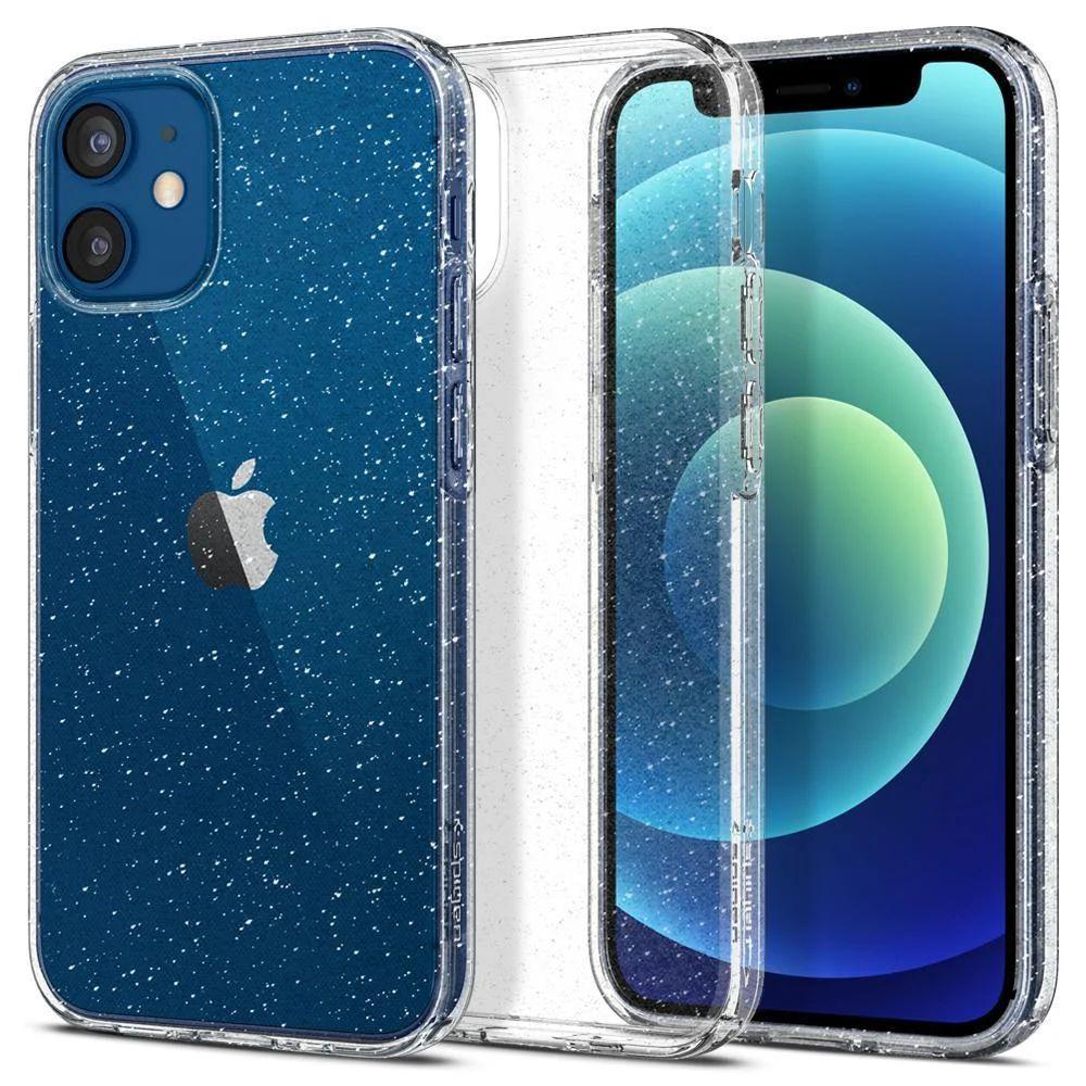 Чохол Spigen Liquid Crystal Glitter Apple iPhone 12 Mini Crystal Quartz (ACS01741)