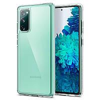 Чехол Spigen Ultra Hybrid Samsung G780 Galaxy S20 FE Crystal Clear (ACS01848), фото 1