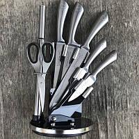 Набор качественных универсальных кухонных ножей на подставке для кухни Германия (ORIGINAL)