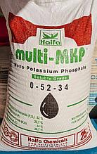 Монофосфат калия (монокалий) 0-52-34, multi-MKP 25кг, Фосфорно калийное удобрение