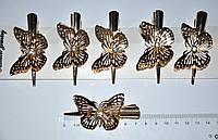 Зажим для волос - бабочка (6 шт)