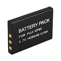 Аккумулятор для фотоаппарата Fujifilm NP-60 / Casio NP-30 / Kodak KLIC-5000 / Samsung SLB-1037 (1400 mAh)