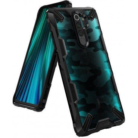 Чехол Ringke Fusion X Xiaomi Redmi Note 8 Pro Camo Black (RCX4632)