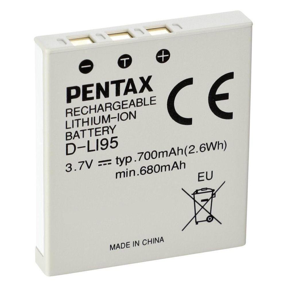 Акумулятор для фотоапарата Pentax D-Li95 (700 mAh)