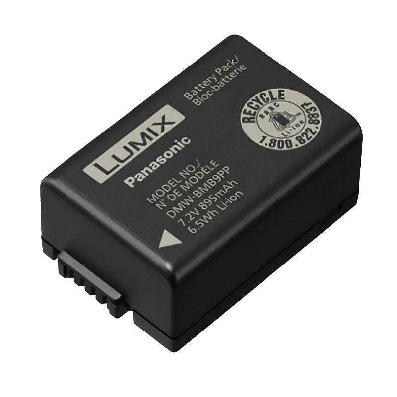 Аккумулятор для фотоаппарата Panasonic DMW-BMB9 (900 mAh)
