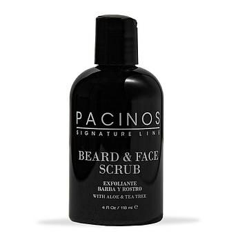 Скраб для лица и бороды Pacinos Beard And Face Scrub 118мл
