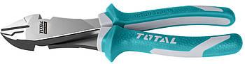 Кусачки диагональные TOTAL THT27716 L=180 мм (6325328)
