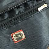 Женская бананка GUESS 067 поясная сумка красная, фото 4