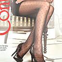 Мелкий горошек женские колготы с узором Conte Dots 20 Den, фото 2
