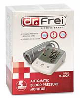 Тонометр Dr.Frei M-200A з адаптером автоматичний на плече гарантія 5 років