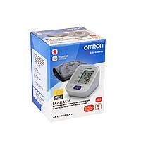 Тонометр Omron M2 Basic (HEM-7121-ARU) автоматический на плечо с адаптером гарантия 5 лет