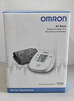 Тонометр Omron M1 Basic (HEM-7121J-AF) автоматический на плечо гарантия 5 лет