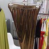Лосины Золото женские Жіночі лосини туреччина Размер от 56 до 72, фото 3