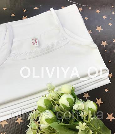 ОПТОМ Дитячі білі маєчки (в упаковці 5 шт одного розміру), фото 2