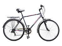 """Велосипед 28"""" ХВЗ ТУРИСТ 286MA стальная рама, 6 скоростей"""