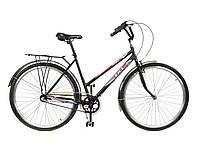 "Велосипед 28"" ХВЗ ТУРИСТ 283WD открытая рама, 3 скорости, сталь"