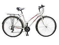 """Велосипед 28"""" ХВЗ ТУРИСТ 2821WD 21 скорость, открытая стальная рама"""