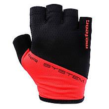 Велоперчатки Meteor Gel GX130 M Черно-красные