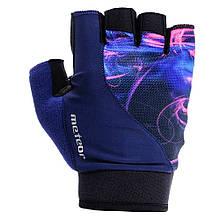 Велоперчатки Meteor Gel GX150 L Синие