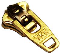 Бегунки YKK (MEТАЛЛ Тип-4.5) джинсовые
