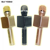 Мікрофон+mini speaker Karaoke YS-68 bluetooth gold ART-7050 YS-68