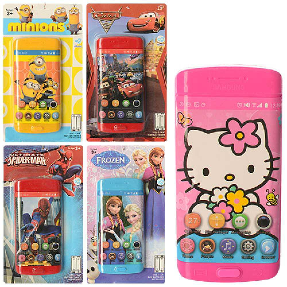 Телефон іграшковий 5 видів 3939-54