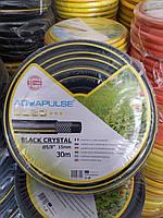 """Шланг для полива BLACK CRISTAL 5/8"""" (15 мм) 30 метров FITT, фото 1"""