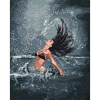 "Картина по номерам 40*50см ""Володарка моря"" Ідейка КНО4744"
