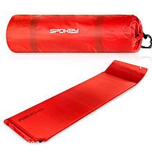 Самонадувной коврик Spokey Pillow Красный