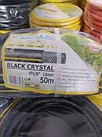 """Шланг для полива BLACK CRISTAL 5/8"""" (15 мм) 50 метров FITT, фото 1"""