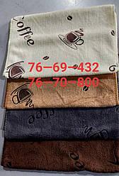 Кухонное полотенце Кофе фибра 12шт 35х70