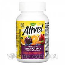 Nature's Way, Alive! Мультивитамины для женщин 60 таблеток, фото 2