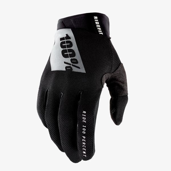 Мотоперчатки RIDE 100%  RIDEFIT Glove Black