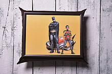 Піднос на подушці Mine Герої Темно-коричневий (111775)