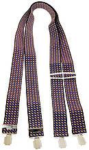 Подтяжки мужские KWM 3,6 см Разноцветный (370001)