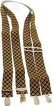 Подтяжки мужские KWM 3,6 см Разноцветный (990231)