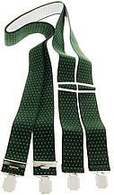Подтяжки мужские KWM 3,6 см Зеленый (990236)