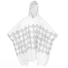 Дощовик-накидка з капюшоном Spokey Invisible Білий