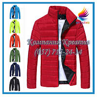 Куртка дутая стёганая болонь (под заказ от 50 шт.)