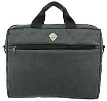 Сумка для ноутбука до 15,6 дюймів Wallaby Сірий (10587-1 Gray)