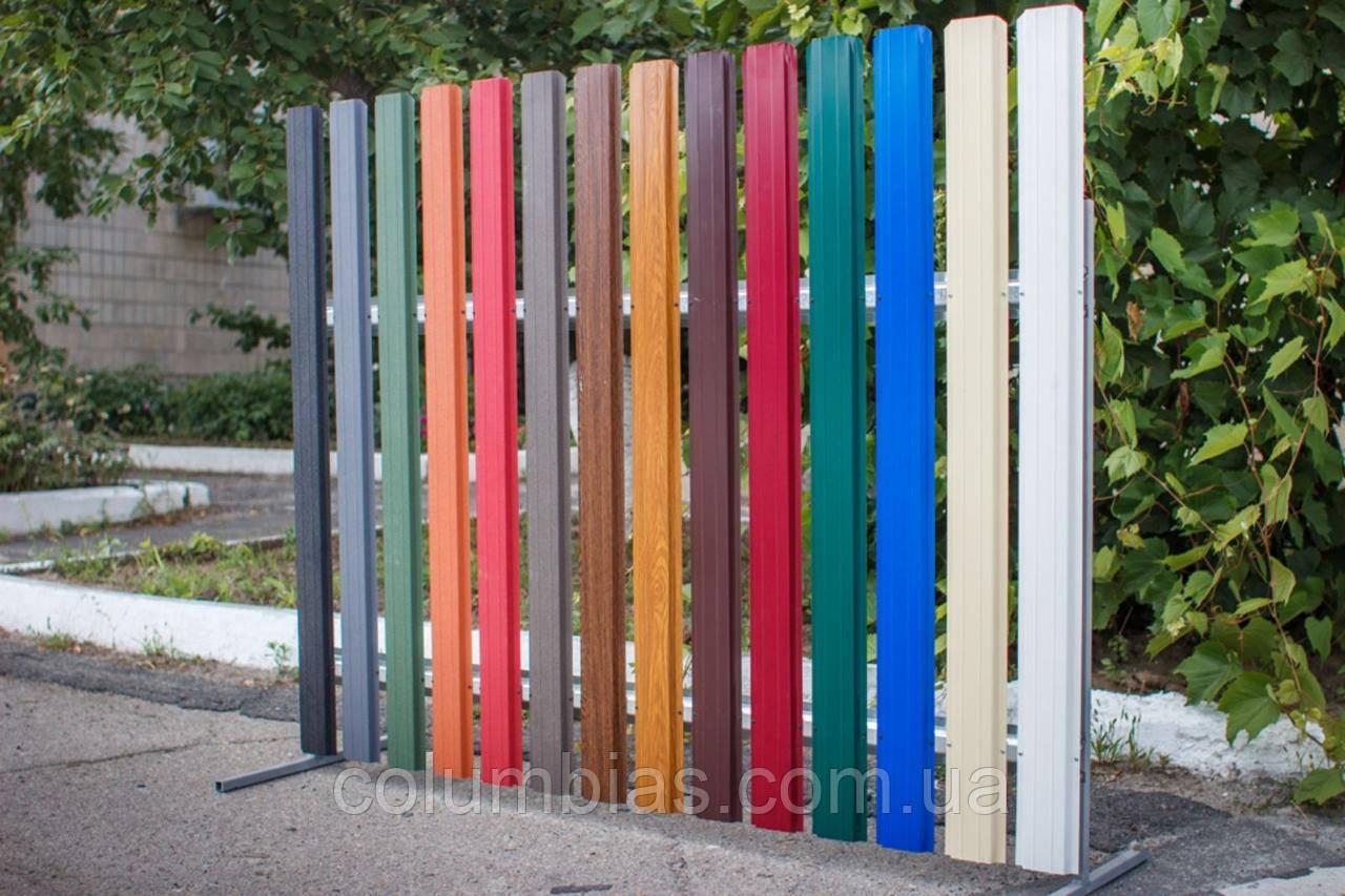 Евроштакетник для совремменых парканів