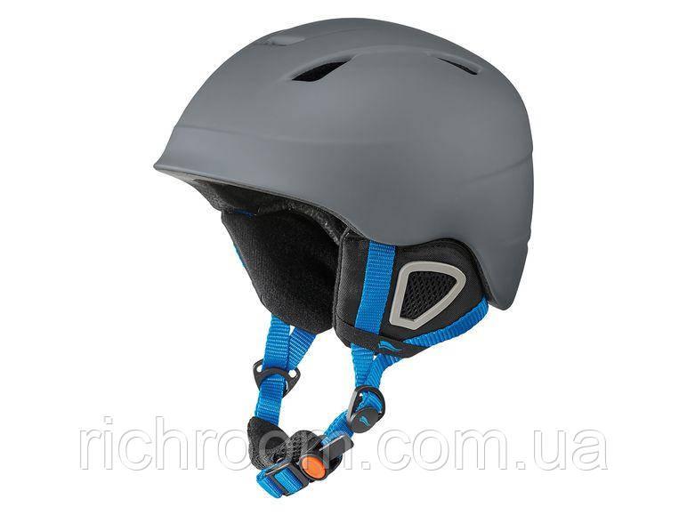 Детский горнолыжный шлем Crivit L/XL 52-55 см, шлем для лыж и сноуборда