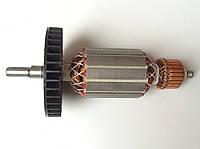 Якорь (ротор) цепной пилы Интерскол ПЦ 16 ( 170*45.5/ усеченный вал )  , фото 1