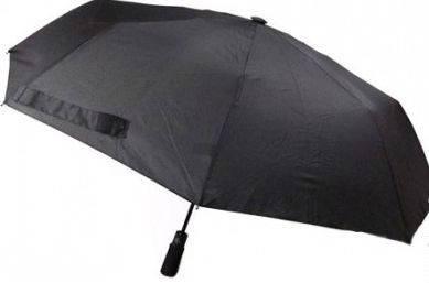 Мужской удобный зонт-автомат, антиветер EuroSCHIRM Light Trek Automatic flashlite 3F329120/SU17367 черный